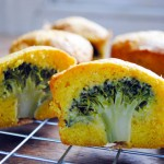 Broccoli Cheese Mini Cakes