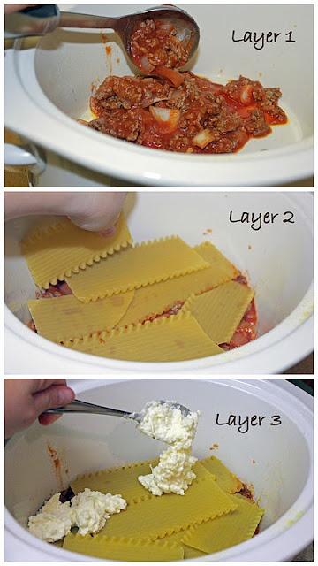 Crockpot Lasagne
