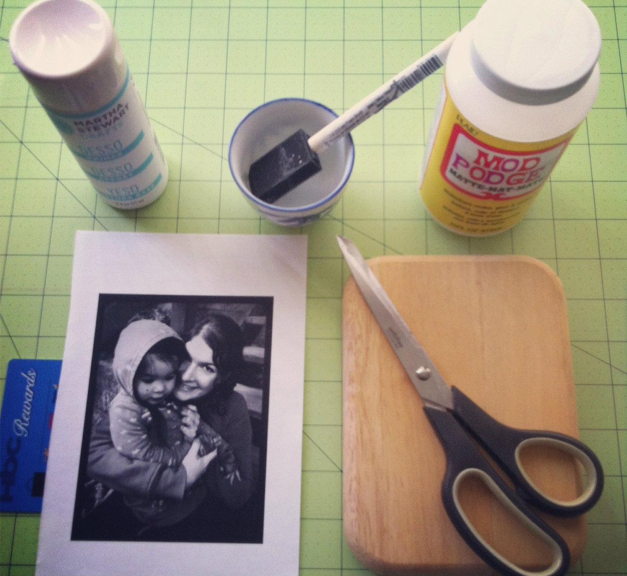 Transfer a photo on wood. DIY tutorial.