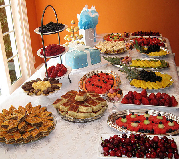 <strong>Finger Food for Bridal Shower Luncheon</strong> -   Bridal shower food