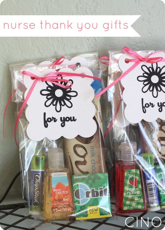 Nurse Thank You Gifts Ideas