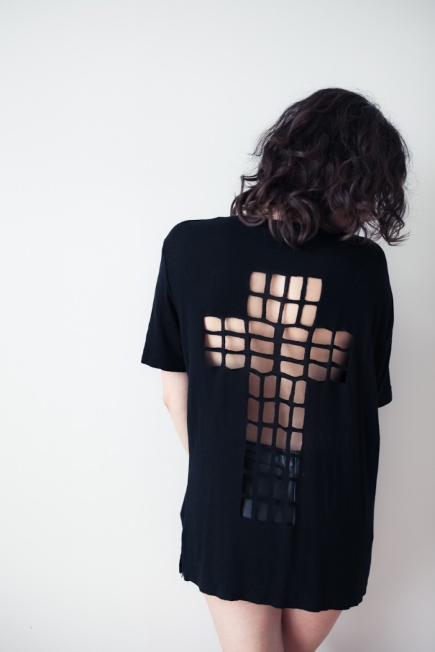Cut-Out T-Shirt DIYs