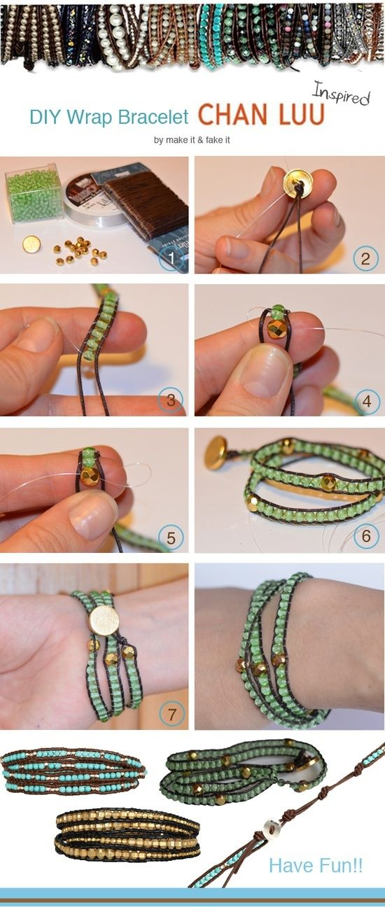 DIY wrap braclet.