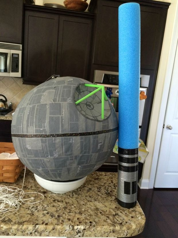 You can even make a Death Star piñata.