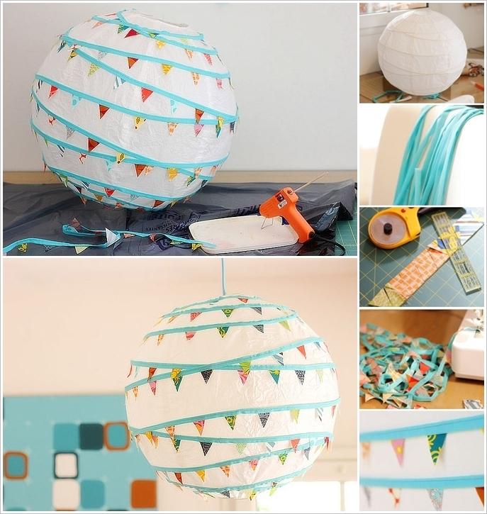 Tissue flowers and paper lanterns design ideas