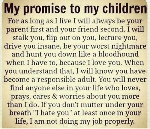 my promise to my children quotes