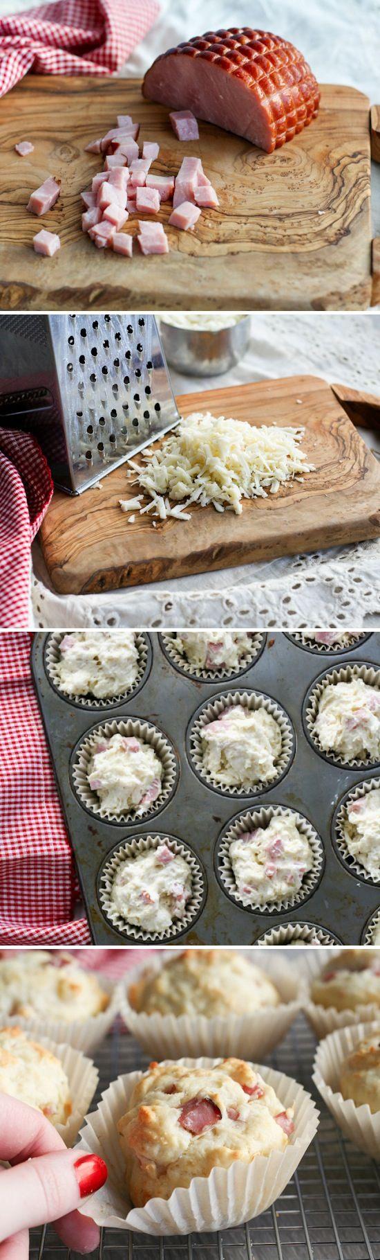 Stephanie's Pork & Swiss Muffins