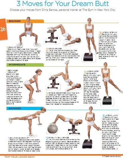 butt workouts; wish I could read it better Butt workout - perfect body https://bestfitnessbody.blogspot.com