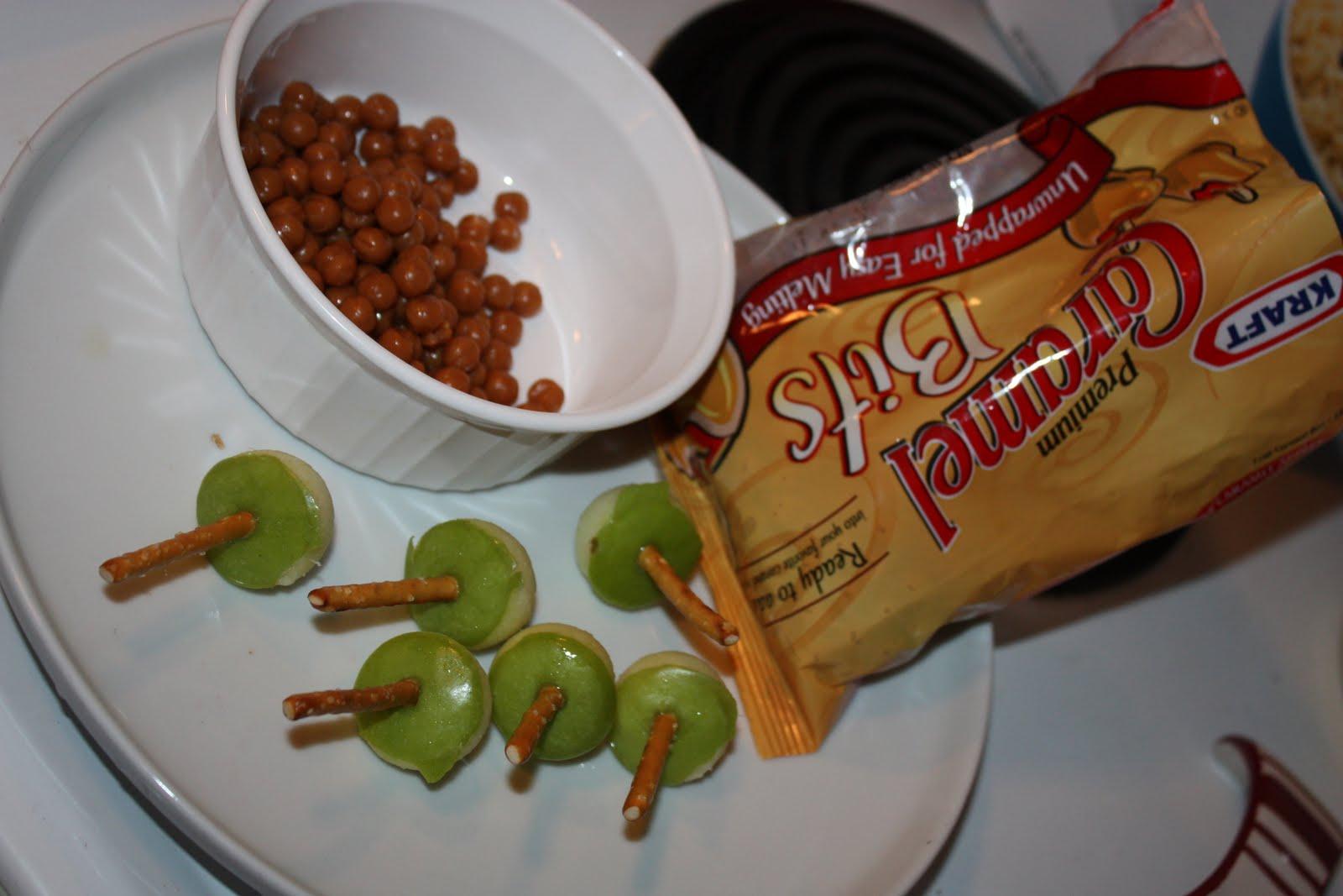 Bite-size Caramel Apples