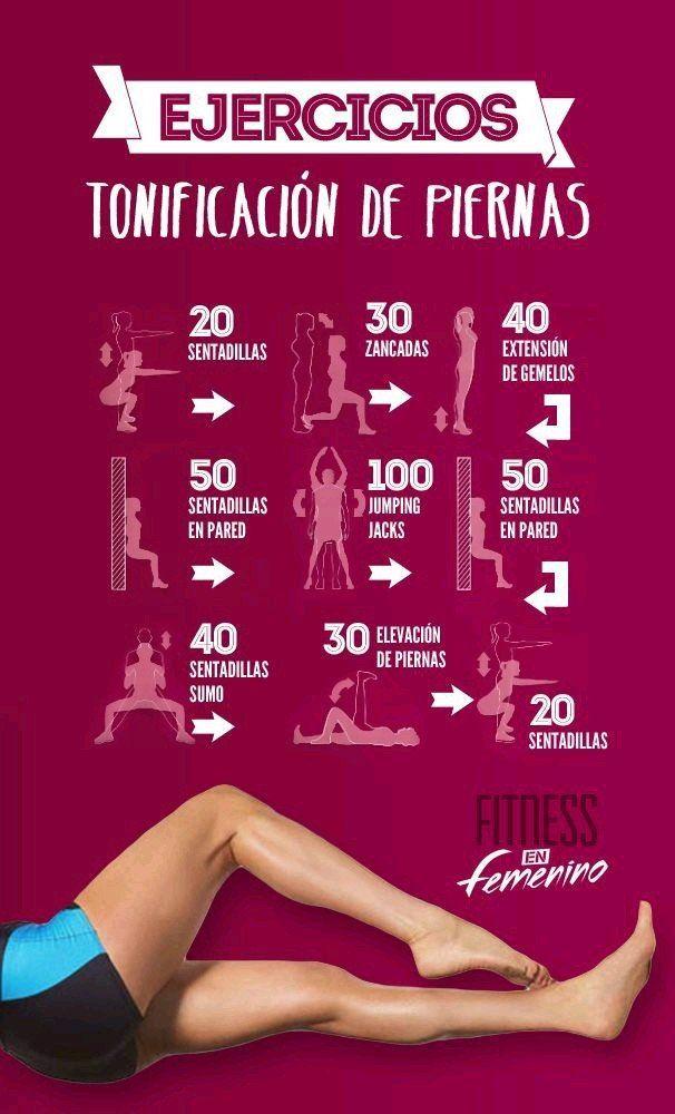 Ponte en forma con estos retos + Yapa -   13 fitness Mujer ejercicio ideas