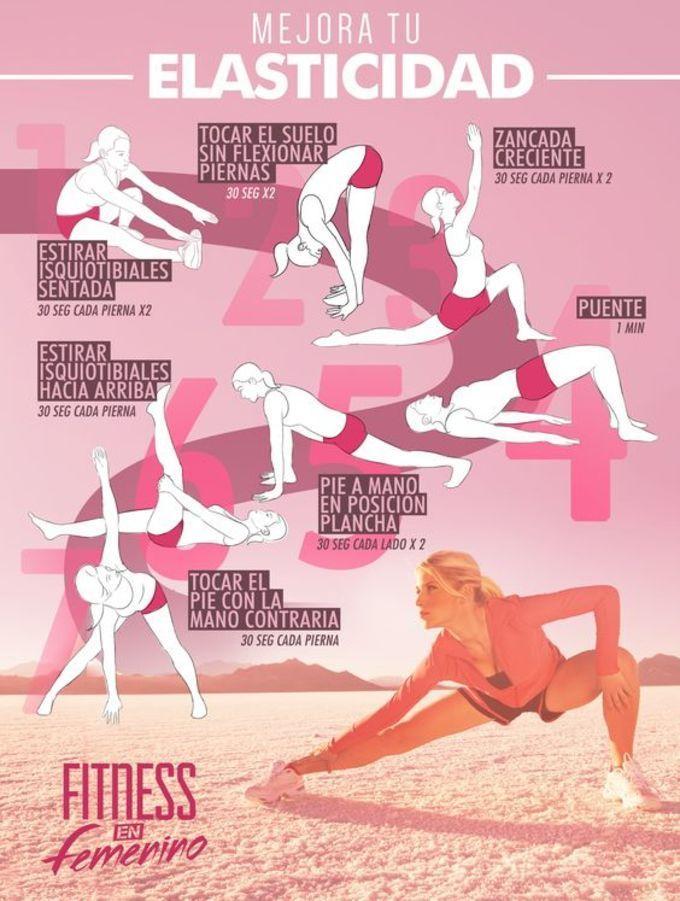 Para mejorar la elasticidad -   13 fitness Mujer ejercicio ideas