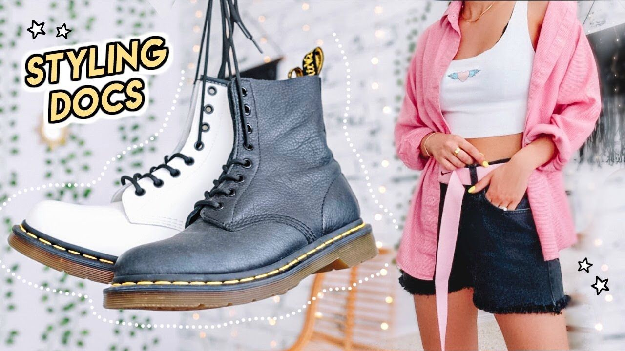 How to Style Dr. Martens -- Doc Martens lookbook -   19 style 90s videos ideas