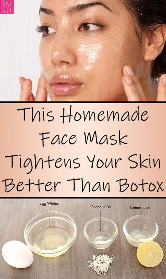 This Homemade Face Mask Tightens Your Skin Better Than Botox - She Made by Grace -   16 healthy beauty Tips ideas